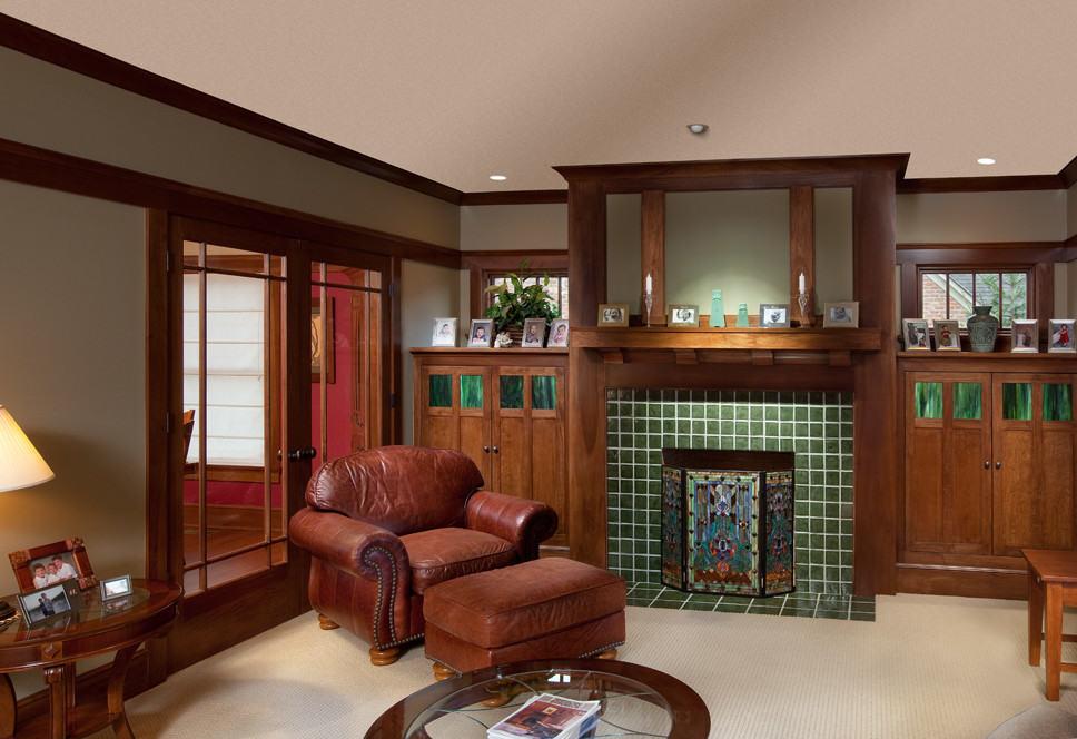 Craftsman Family Room 2
