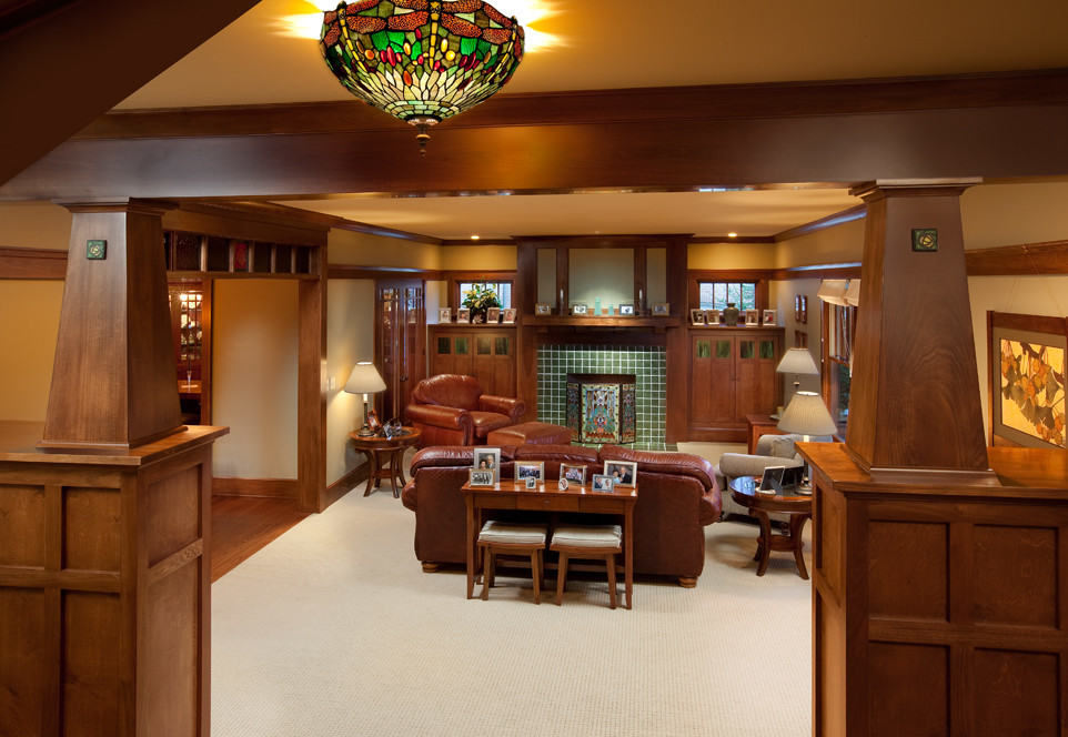 Craftsman Family Room