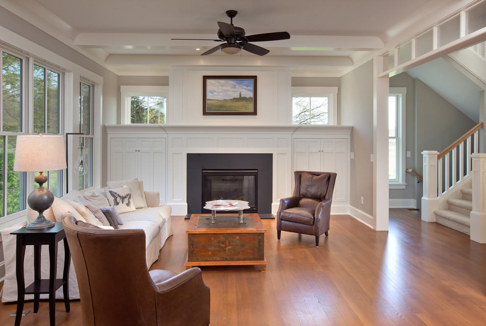 Craftsman Living Room 2